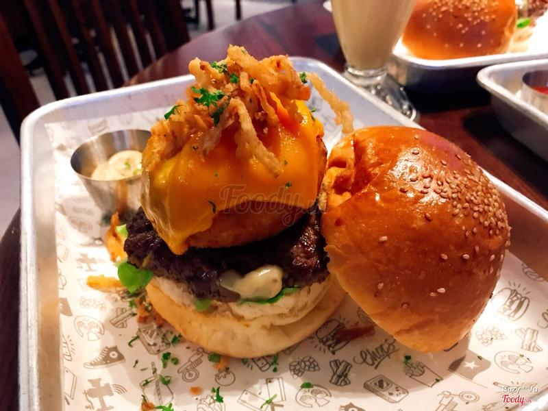 Roll joyce burger