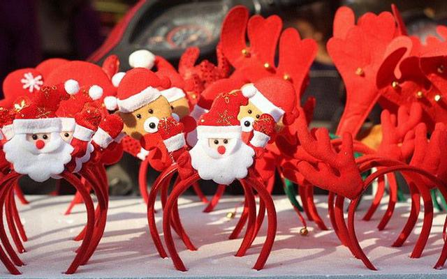 Băng Đô Sừng Tuần Lộc - Phụ Kiện Giáng Sinh - Shop Online