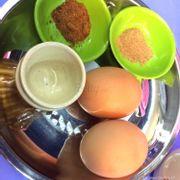Trứng gà lòng đào 6k