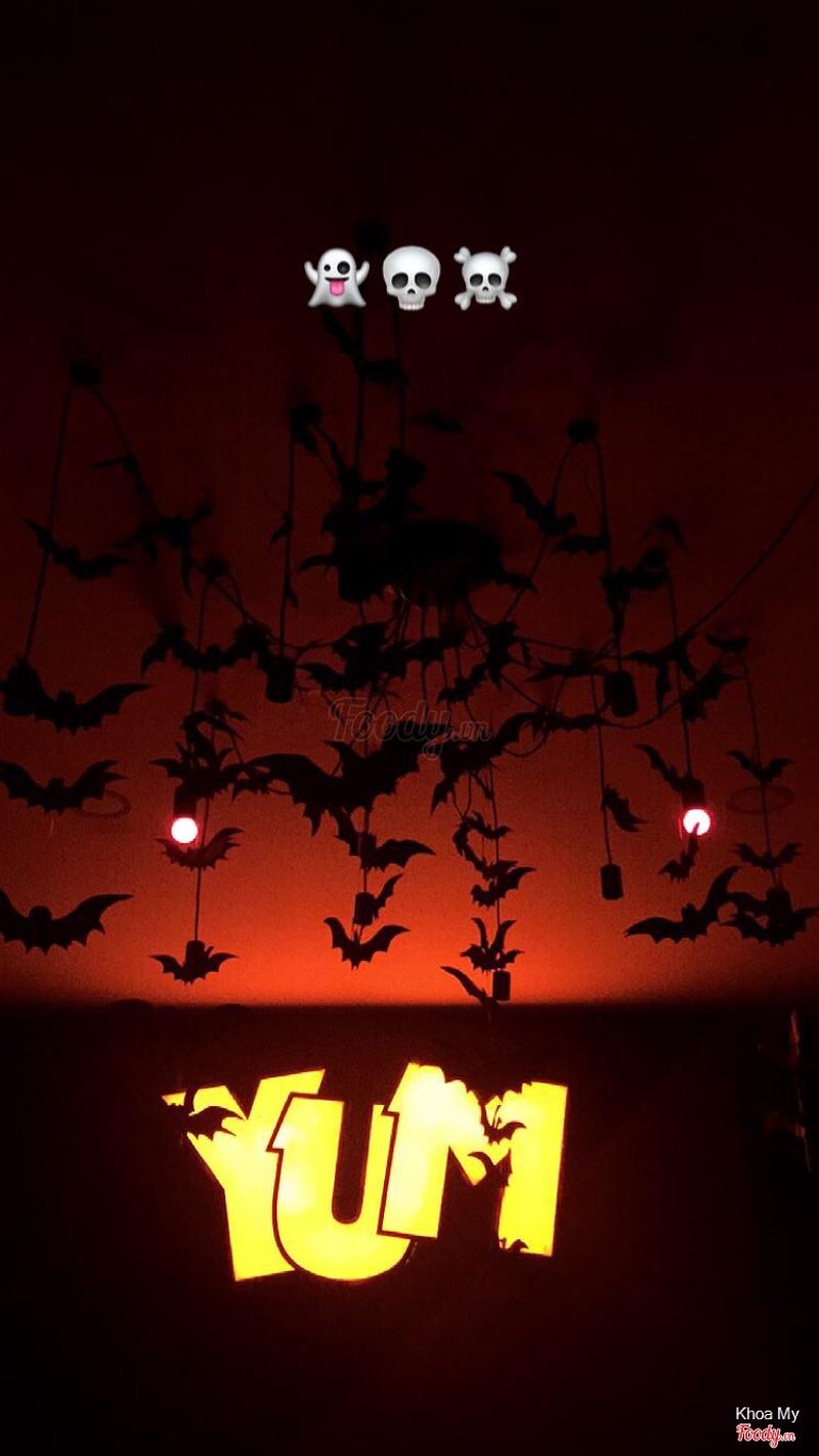 Hôm halloween 🖤