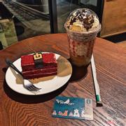 Frappuccino Chocolate Chip Cream + Redvelvet Tiramisu