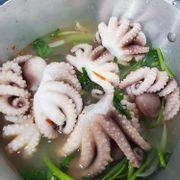 bạch tuộc nhúng dấm