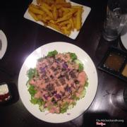 Salad thịt bò tại PPs buffet 30 Phan Chu Trinh
