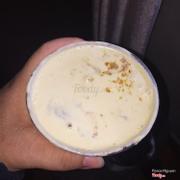 Lớp foam với dừa khô