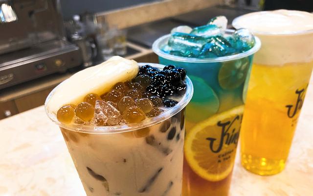 King Coffee & Tea - Hồ Tùng Mậu