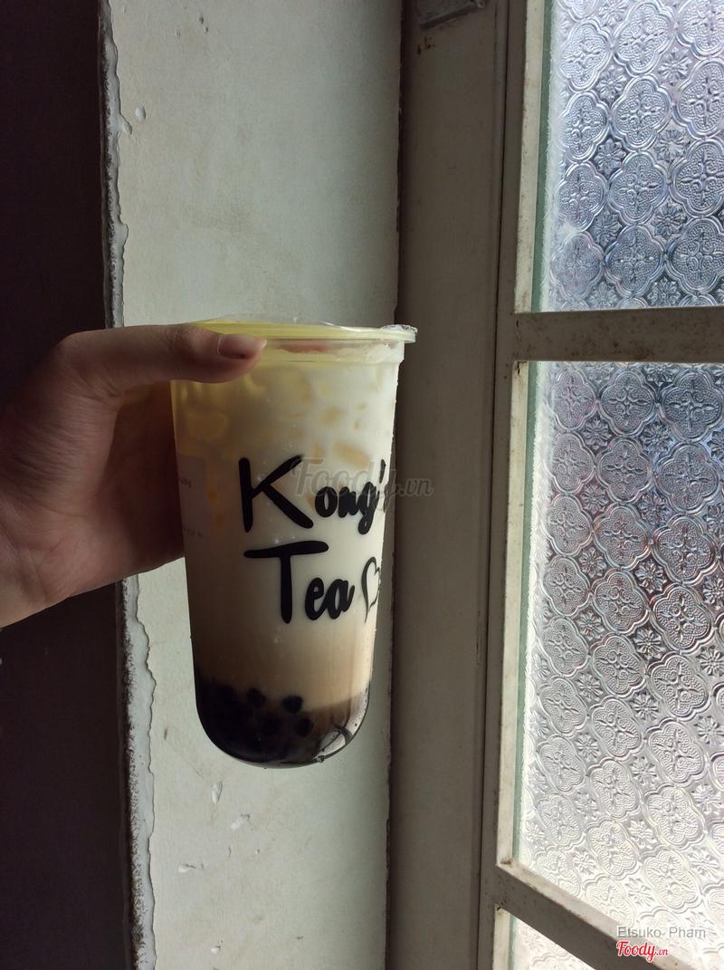 Sữa tươi trân châu đường đen size L