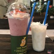 Little strawberry + Dừa dầm