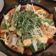 Salad tôm sốt cam