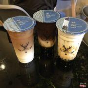 Sữa tươi trân châu đường đen Ca cao trân châu đường đen Hồng trà Latte