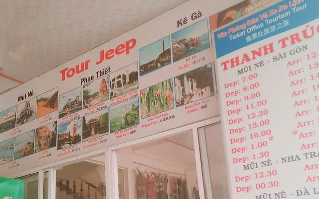 Văn Phòng Bán Vé Xe Tour, Máy Bay, Tour Jeep & Cho Thuê Xe Máy