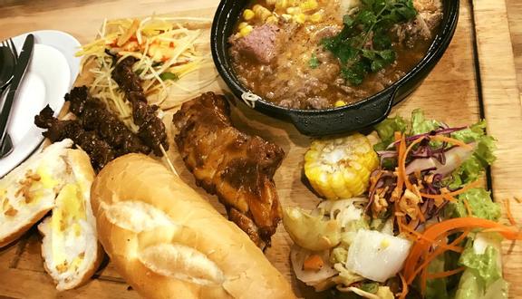 Cậu Bờm - Bún Cá, Sườn Bản BBQ & Bánh Mì Thịt Nướng Campuchia