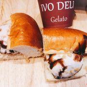 Gelato bread - very good!