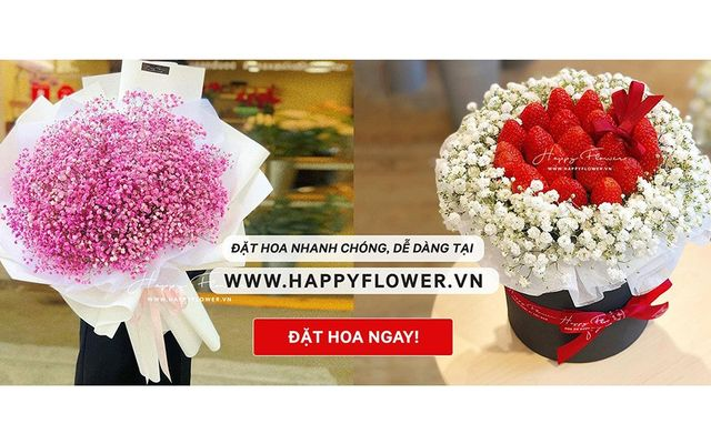 Happy Flower - We Deliver Happiness - Lê Thị Hồng Gấm