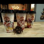 Hoa quả dầm sữa chua/ Fruit yogurt smoothie