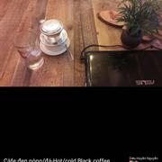 Cà phê Đen nóng/ đá Hot/cold Black coffee