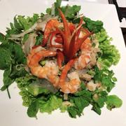 Gỏi sứa tôm thịt kiểu Thái