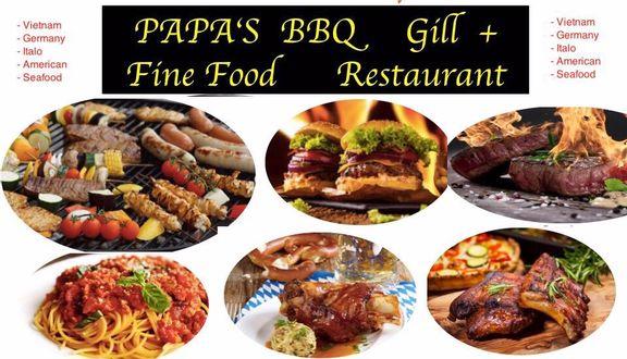 BBQ Papa's - Nướng & Các Món Âu