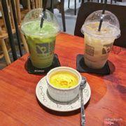 Creme + Trà sữa Thái xanh + Trà sữa gạo HQ