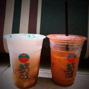Cặp đôi hoàn hảo Tuk Tuk và trà phổ nhĩ kem phô mai <3