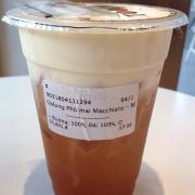 Vị trà hơi ít, bị vị béo lấn