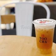 Hồng trà chanh tươi + Trân châu tuyết sa