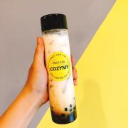 Sữa tươi trân châu đường đen size chai