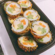 sushi gà chiên