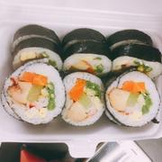 sushi cua +gà