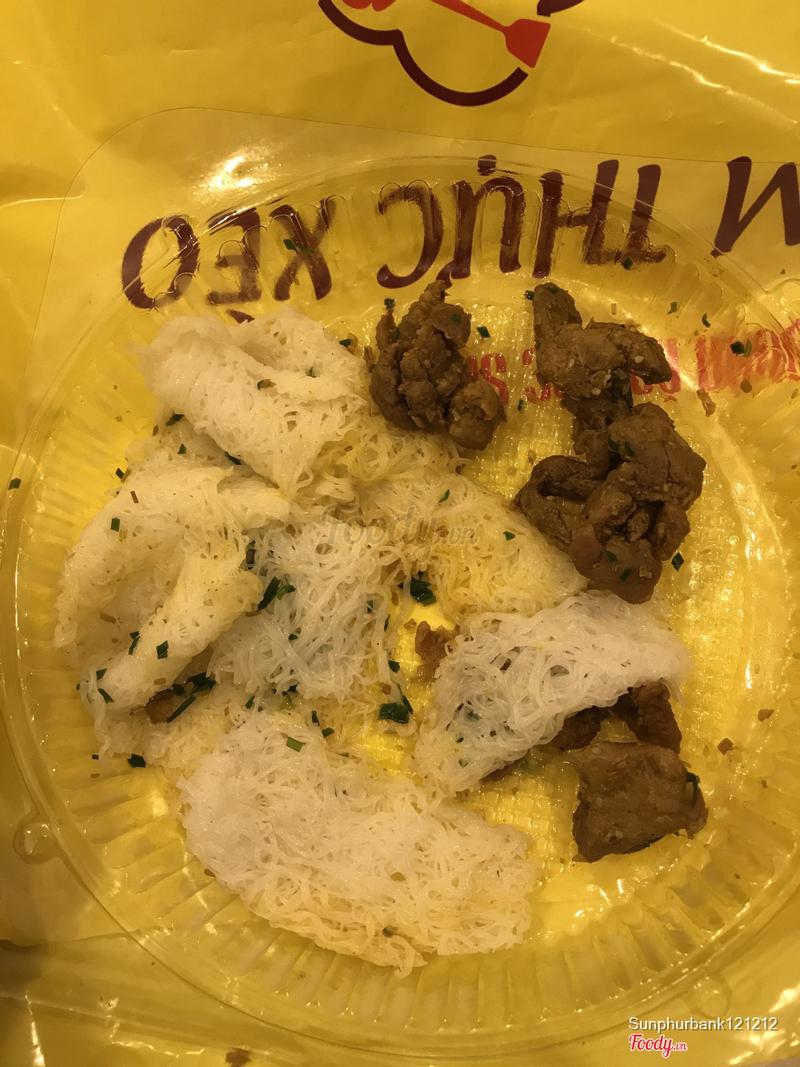 Ko bit thịt heo rừng hay thịt heo mỹ mà vài miếng thịt + vài miếng bánh giá 95k