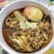 Cơm bò trứng lòng đào (size S)