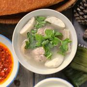 Xíu mại chén Đà Lạt + bánh mì