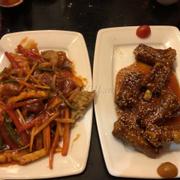 Sườn Kinh Đô. Cá chẽm sốt chua ngọt