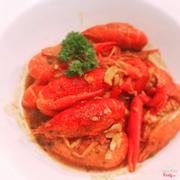 Crawfish sốt cajun nêm rất vừa ăn