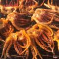 Râu mực Thái nướng muối ớt