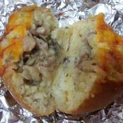 bánh gà nấm