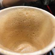 Cappuccino bọt quá to