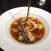 Soup tomyom hải sản Thái