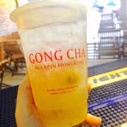 Trà lê hoa cúc . Món này dùng không đường rất ok vì trà thêm mật ong nen đọ ngọt vừa phải rồi
