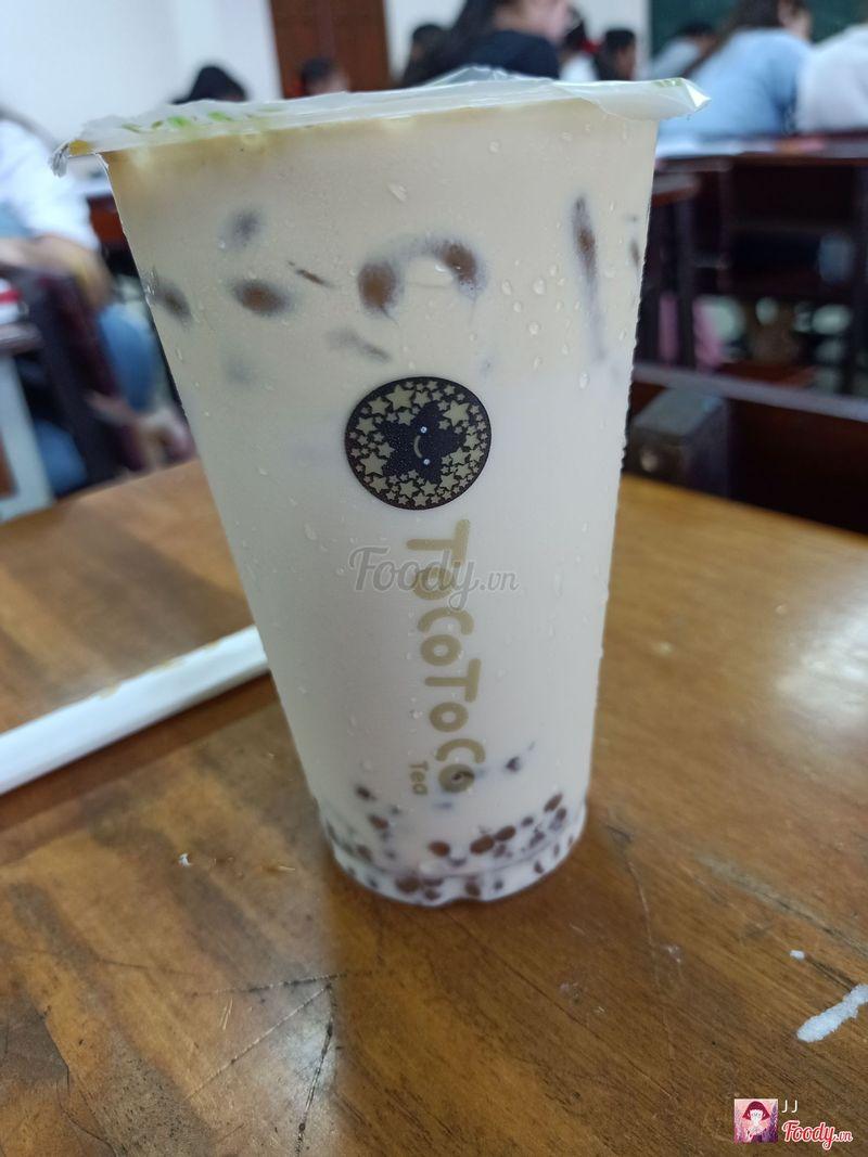 Olong trân châu baby kem cafe
