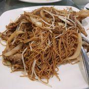 Mì xào thịt vịt quay Bắc Kinh. Ăn khá ngon