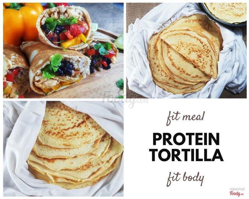 Bánh Protein Tortilla