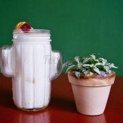 Thức uống do khách hàng Bé Bo sáng tạo - Sữa Cam Hoa Cúc