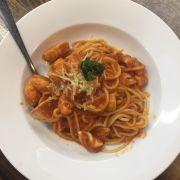 Spaghetti Hải sản sốt bò bằm