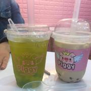Trà xanh kiwi, trà sữa phô mai