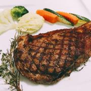 Striploin steak tại Sậy Steak House