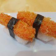 Kani furai sushi