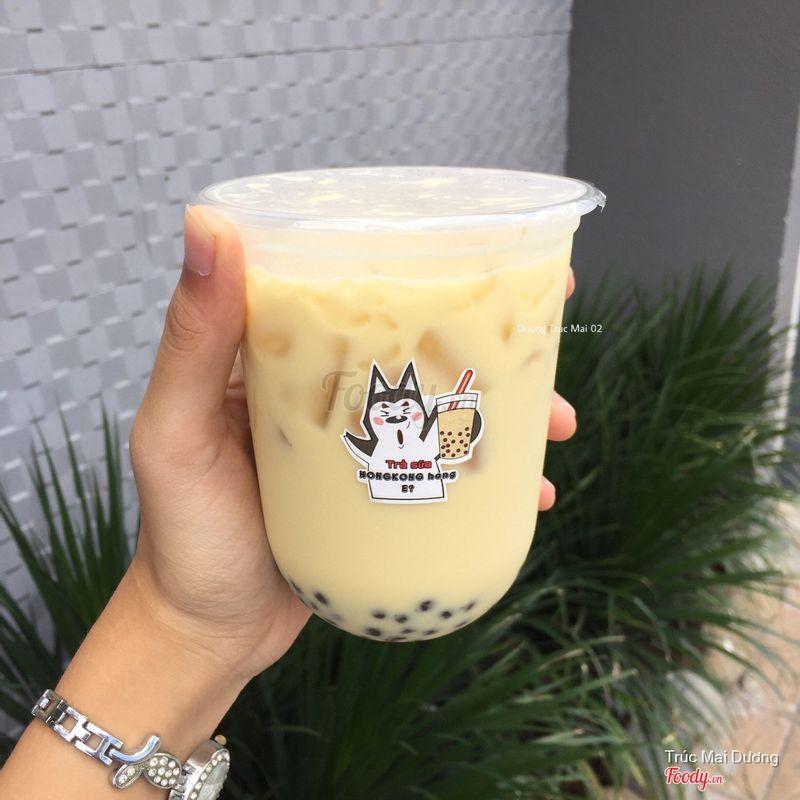 Trà sữa Oolong HongKong trân châu Mini