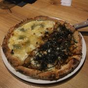 Pizza 4 cheese-gà teriyaki