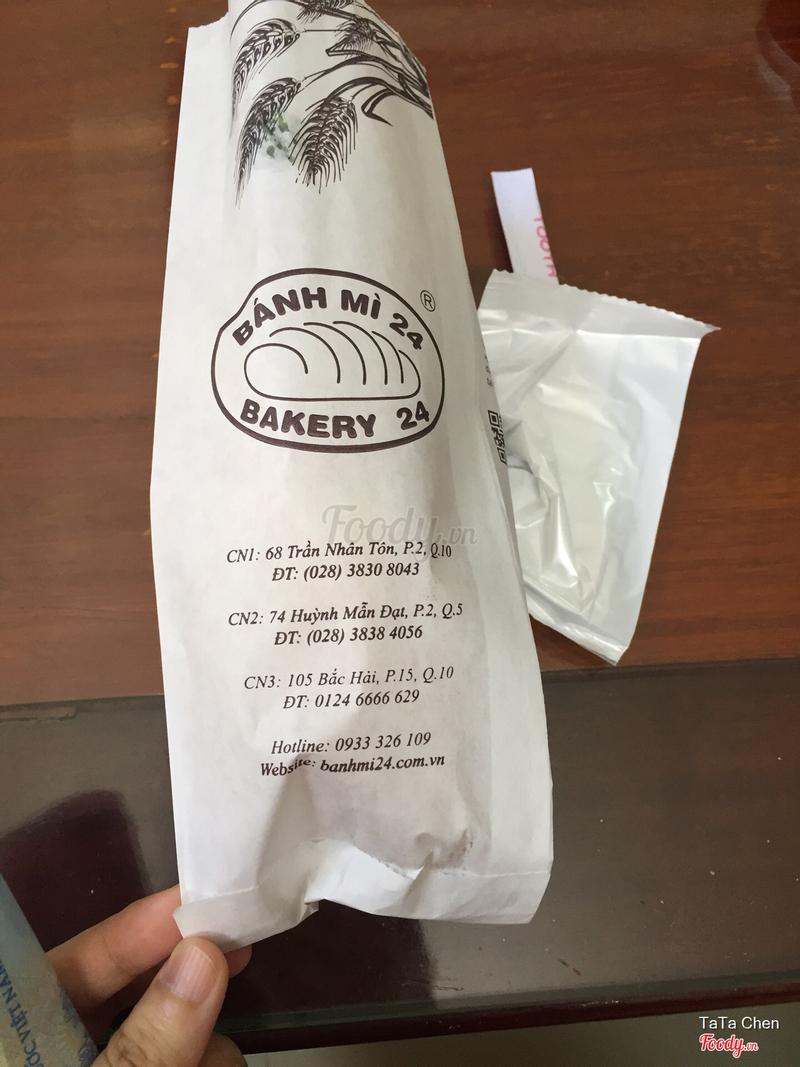 Bánh mì thịt chả 20k