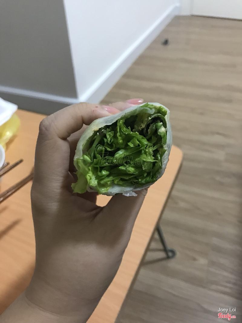 2/3 còn lại là rau